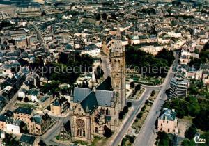 AK / Ansichtskarte Arlon_Wallonie Fliegeraufnahme Eglise St. Martin Arlon Wallonie