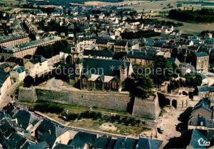 AK / Ansichtskarte Arlon_Wallonie Eglise St. Donat Fliegeraufnahme Arlon Wallonie