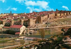 AK / Ansichtskarte Avila_Espana Walled City Stadtmauer