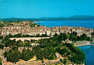 AK / Ansichtskarte Corfu Fliegeraufnahme Corfu