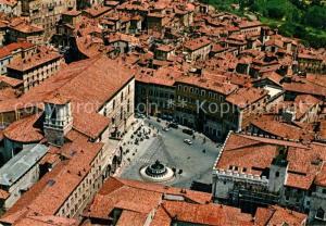 AK / Ansichtskarte Perugia Fliegeraufnahme Cattedrale e Fontana Maggiore  Perugia