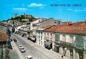 AK / Ansichtskarte Monforte_de_Lemos Calle del Cardenal