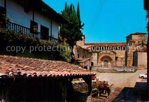 AK / Ansichtskarte Santillana_del_Mar La Colegiate  Santillana_del_Mar