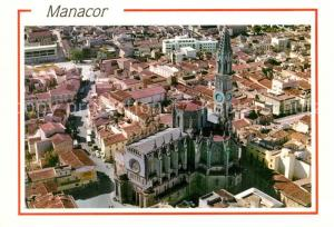 AK / Ansichtskarte Manacor Fliegeraufnahme Manacor