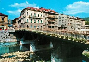 AK / Ansichtskarte Sarajevo Princip Br?cke Sarajevo