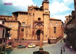 AK / Ansichtskarte Ourense Catedral Ourense