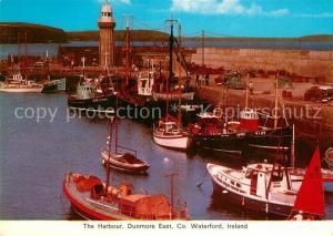 AK / Ansichtskarte Dunmore_UK Harbour Waterfront