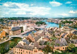 AK / Ansichtskarte Namur_sur_Meuse Fliegeraufnahme Sambre et Meuse Namur_sur_Meuse