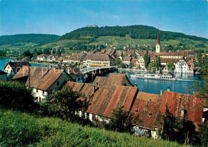 AK / Ansichtskarte Stein_Rhein mit Schloss Hohenklingen Stein Rhein