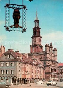 AK / Ansichtskarte Poznan_Posen Rathaus  Poznan Posen