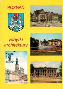 AK / Ansichtskarte Poznan_Posen Rathaus Collegium Minus  Poznan Posen