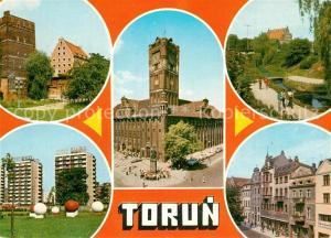 Torun_Thorn Stadtturm Rathaus Altstadt Wohnsiedlung Historische Miethaeuser Altstaedter Ring Torun Thorn