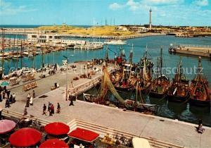 AK / Ansichtskarte Ostende_Oostende Hafen Yachtclub