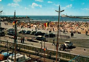 AK / Ansichtskarte Ostende_Oostende Kleiner Strand