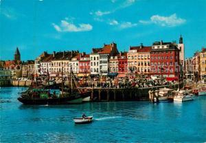 AK / Ansichtskarte Ostende_Oostende Fischerei Hafen