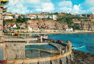 AK / Ansichtskarte Ericeira Piscina do Hotel e Praia Ericeira
