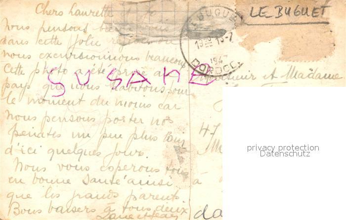 AK / Ansichtskarte Le_Bugue La Maison Le_Bugue 1