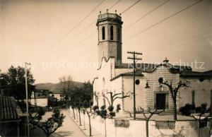 AK / Ansichtskarte Pineda_de_Mar Iglesia Parroquial y Calle Antonio Doltra Pineda_de_Mar