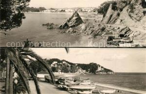 AK / Ansichtskarte Lloret_de_Mar Playa La Caletas y Vista parcial Lloret_de_Mar