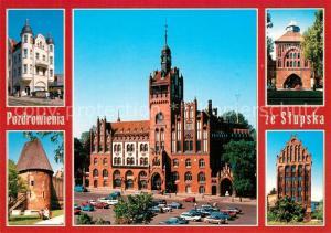 AK / Ansichtskarte Slupsk Sehenswuerdigkeiten der Stadt Slupsk