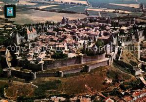 AK / Ansichtskarte Carcassonne Vue aerienne  Carcassonne