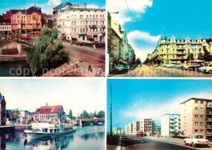 AK / Ansichtskarte Bydgoszcz_Pommern Plac Zjednoczenia Aleje i Maja Bydgoszcz Pommern