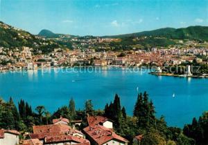 AK / Ansichtskarte Como_Lago_di_Como Panorama da Roncate Como_Lago_di_Como