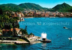 AK / Ansichtskarte Como_Lago_di_Como Fliegeraufnahme Como_Lago_di_Como