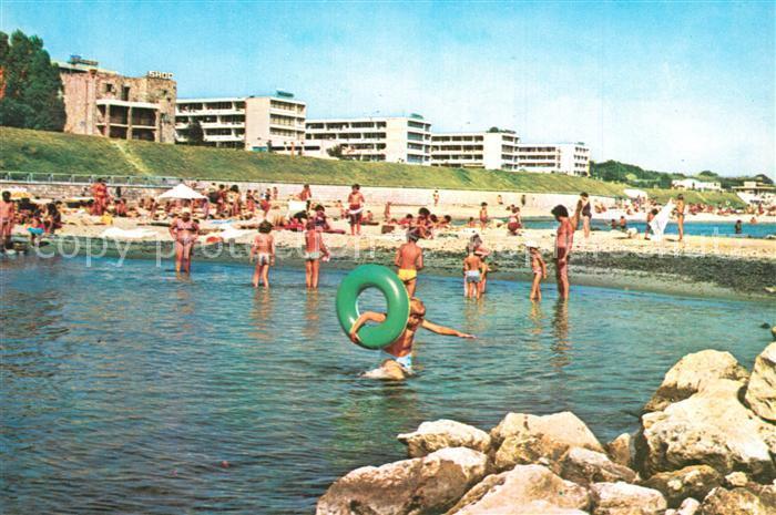 AK / Ansichtskarte Eforie_Sud Badestrand Plaja Eforie_Sud 0