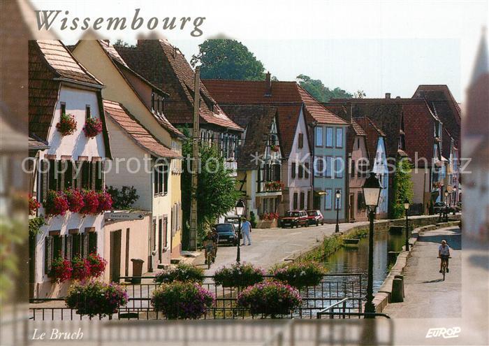 AK / Ansichtskarte Wissembourg Quartier Le Bruch  Wissembourg 0