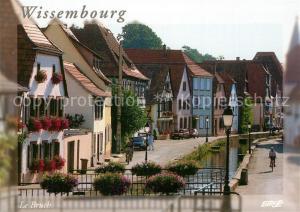 AK / Ansichtskarte Wissembourg Quartier Le Bruch  Wissembourg