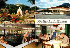 AK / Ansichtskarte Murau_Steiermark Hallenbad Restaurant Murau_Steiermark