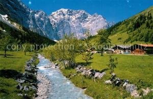 AK / Ansichtskarte Karwendel Lafatscher Alm  Karwendel