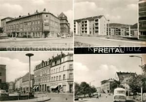 AK / Ansichtskarte Freital Kulturhaus da capo Waldblick Am Markt Platz des Friedens Freital