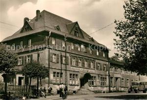 AK / Ansichtskarte Carlsfeld_Erzgebirge Gasthaus Zum Gruenen Baum Carlsfeld Erzgebirge