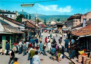 AK / Ansichtskarte Sarajevo Bascarsija Sarajevo