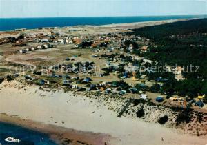 AK / Ansichtskarte Contis Vue panoramiqueaerienne et Camping Lous Seurrots