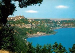 AK / Ansichtskarte Castelgandolfo_Latium Panorama Il Lago Castelgandolfo_Latium