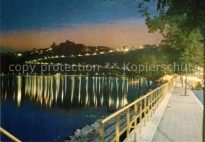 AK / Ansichtskarte Castelgandolfo_Latium Il Lago di notte Castelgandolfo_Latium