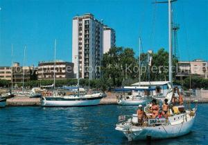 AK / Ansichtskarte Olbia Seglerhafen Segelyacht Olbia