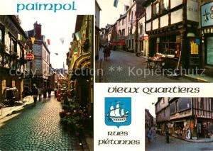 AK / Ansichtskarte Paimpol Les rues pietonnes et leurs vieilles maisons Paimpol