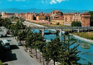 AK / Ansichtskarte Parma_Emilia Romagna Torrente e Ponte Giuseppe Verdi Torrione Parma Emilia Romagna