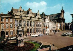 AK / Ansichtskarte Malines_Mechelen_Flandre Eglise S.S. Pierre et Paul environs Monument Malines_Mechelen_Flandre