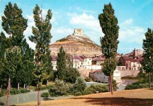 AK / Ansichtskarte Penafiel_Valladolid Vista parcial y castillo