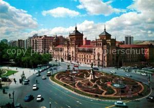 AK / Ansichtskarte Valladolid Plaza de Zorrilla y Academia de Caballeria Valladolid