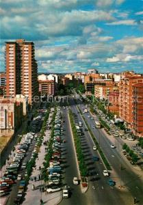 AK / Ansichtskarte Valladolid Paseo de Zorrilla y Casa de las Mercedes Valladolid