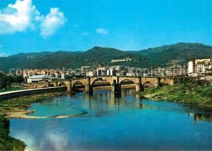 AK / Ansichtskarte Orense Puente Romano sobre el Rio Mino