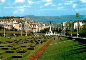 AK / Ansichtskarte Lisboa Parque Eduardo VII Jardim Monumento Lisboa