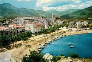 AK / Ansichtskarte Port_Bou Rambla y playa Port_Bou