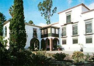 AK / Ansichtskarte Madeira_Portugal Quinta das Cruzes Museu Fachada principal do Edificio